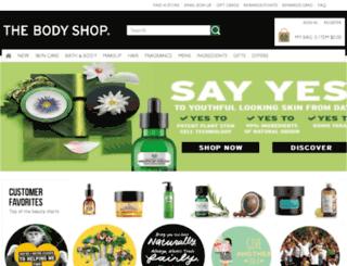 bodyshop.com screenshot