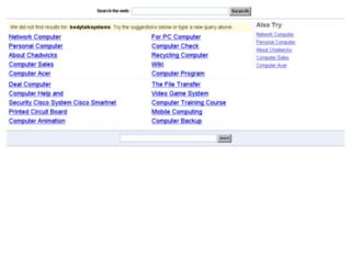 bodytalksystems.com screenshot
