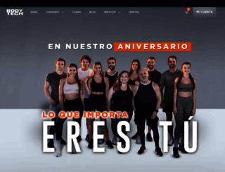 bodytech.com.co screenshot