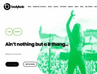 bodytonicmusic.com screenshot
