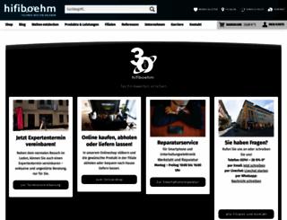 boehm-shop.de screenshot