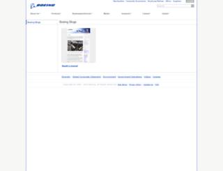 boeingblogs.com screenshot