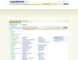 boeken.tweedehands.net screenshot