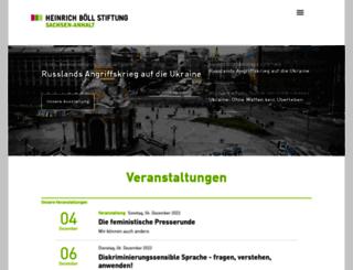 boell-sachsen-anhalt.de screenshot