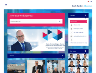 boelszanders.com screenshot