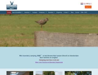 boerderijhazenveld.nl screenshot