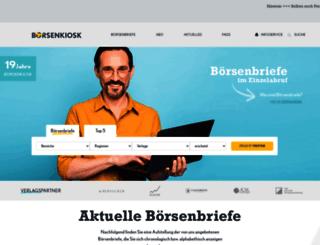 boersenkiosk.de screenshot
