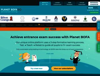bofa11plus.com screenshot