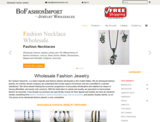 bofashionimport.com screenshot