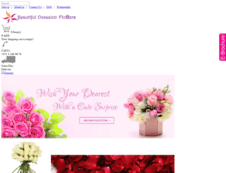 boflowersuae.com screenshot
