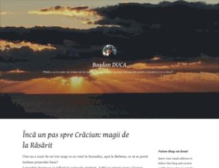 bogdanduca.wordpress.com screenshot