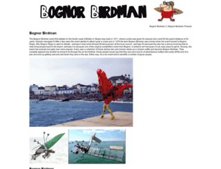 bognorbirdman.com screenshot
