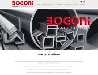 bogonialuminios.com.br screenshot