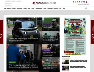 bogor.antaranews.com screenshot