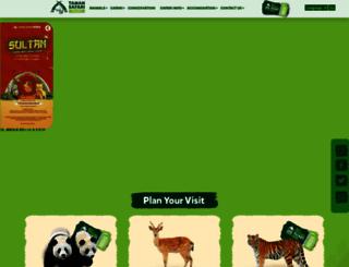 bogor.tamansafari.com screenshot