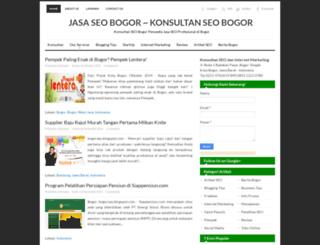 bogorseo.blogspot.com screenshot