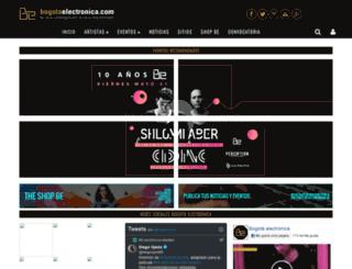 bogotaelectronica.com screenshot