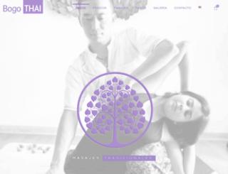 bogothai.com screenshot