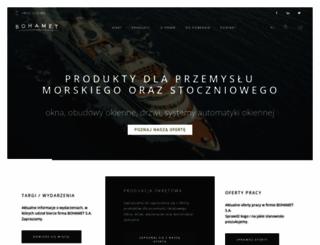 bohamet.pl screenshot