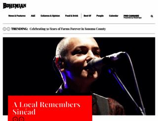 bohemian.com screenshot
