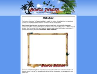 boholinsider.com screenshot
