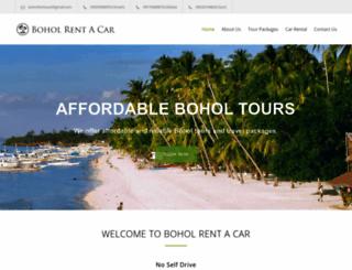boholrentacar.com screenshot