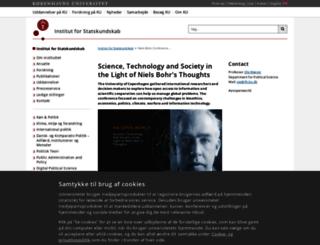 bohr-conference2013.ku.dk screenshot