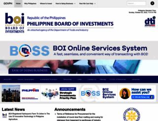 boi.gov.ph screenshot