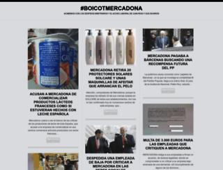 boicotmercadona.wordpress.com screenshot