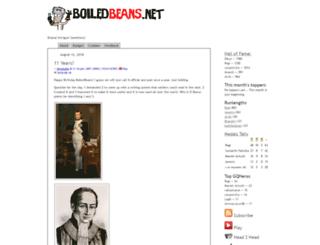 boiledbeans.net screenshot