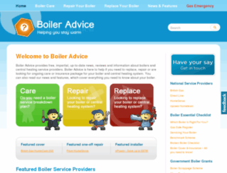 boileradvice.com screenshot