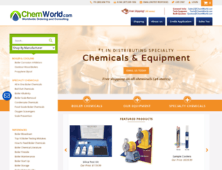 boilerchemicals.com screenshot
