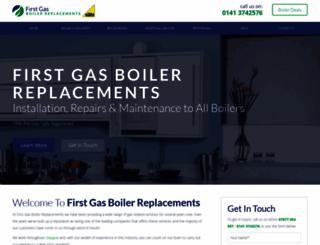 boilerrepairsglasgow.com screenshot