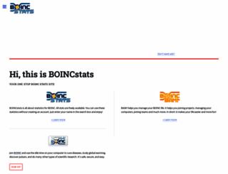 boincstats.com screenshot