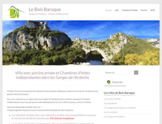 bois-baroque.com screenshot