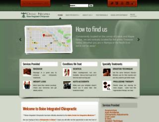 boiseintegratedchiropractic.com screenshot