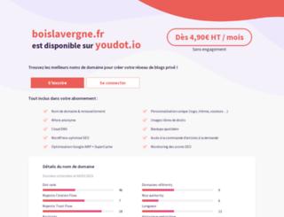boislavergne.fr screenshot