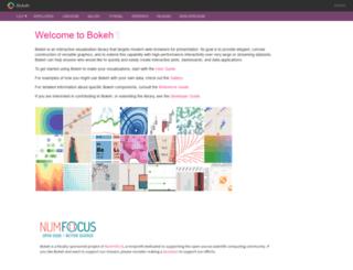bokehplots.com screenshot