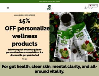 bokusuperfood.com screenshot