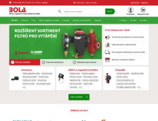 bola.cz screenshot