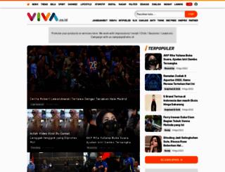 bola.viva.co.id screenshot