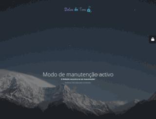 bolasdetons.pt screenshot