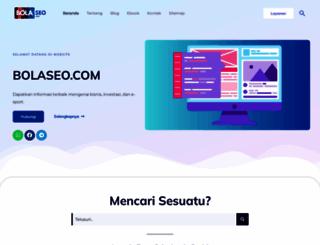 bolaseo.com screenshot