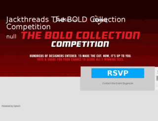 boldcollectioncompetition.jackthreads.com screenshot