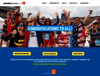bolderboulder.com screenshot