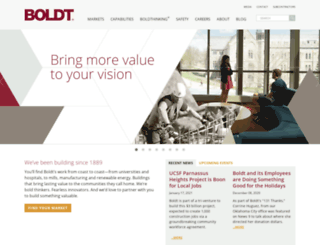 boldt.com screenshot
