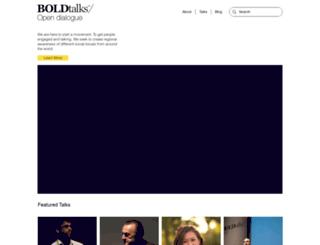boldtalks.com screenshot