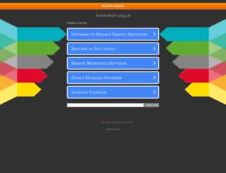 boldvision.org.uk screenshot