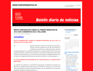 boletindiariodenoticias.wordpress.com screenshot