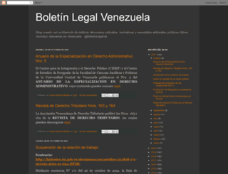 boletinlegalve.blogspot.com screenshot